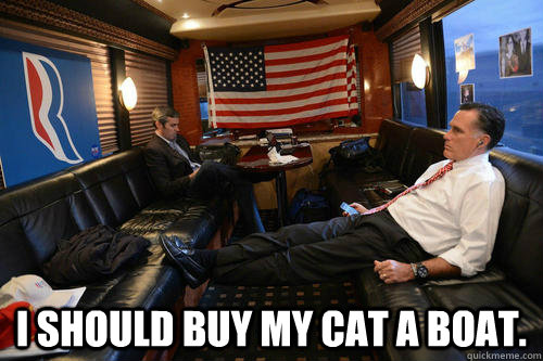  i should buy my cat a boat - Sudden Realization Romney