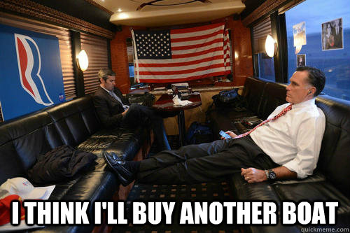 i think ill buy another boat - Sudden Realization Romney