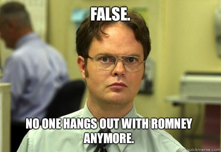False False nothing and orange do not rhyme - Dwight