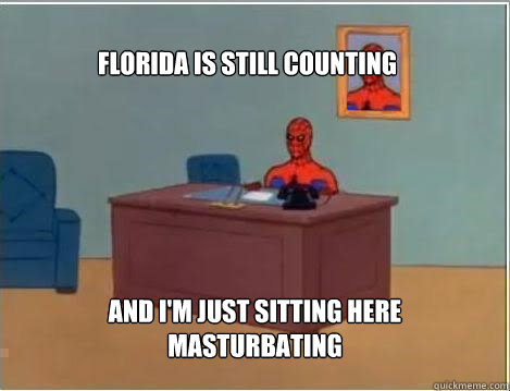 florida is still counting and im just sitting here masturba - Spiderman