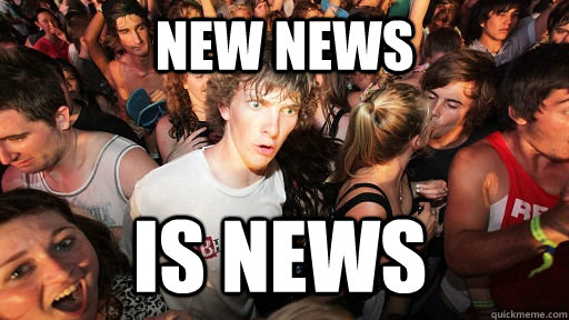 new news is news - Sudden Clarity Clarence