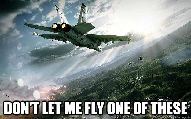 dont let me fly one of these - BF3 Jet