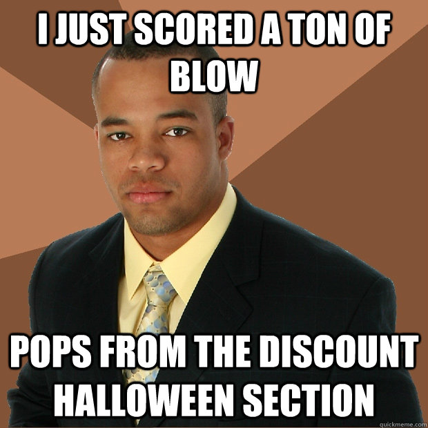 i just scored a ton of blow pops from the discount halloween - Successful Black Man