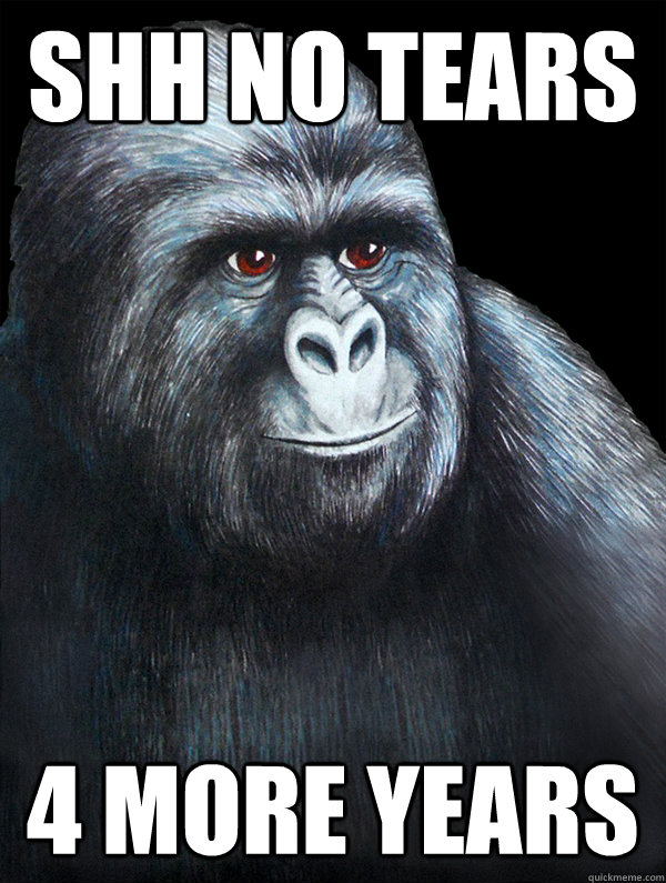 shh no tears 4 more years - Rustled Jimmies