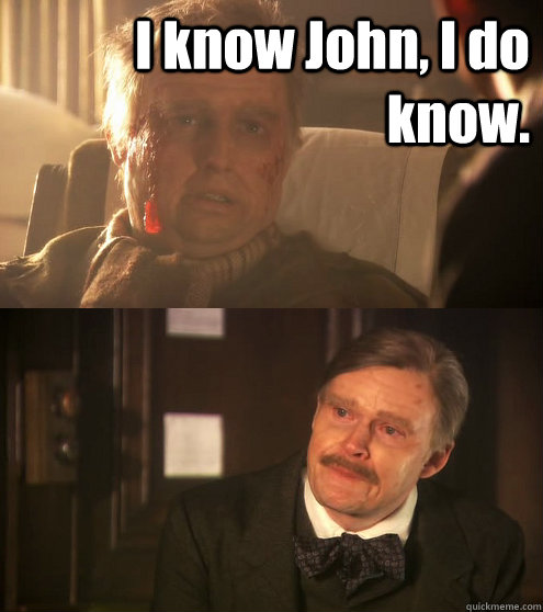 i know john i do know  - Old Holmes