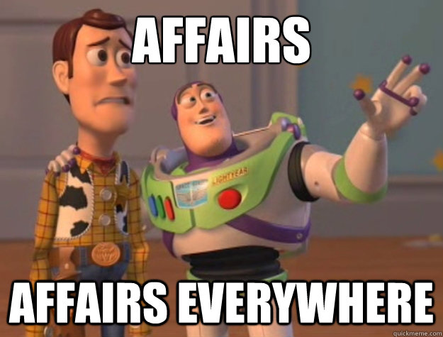 affairs affairs everywhere - Buzz Lightyear