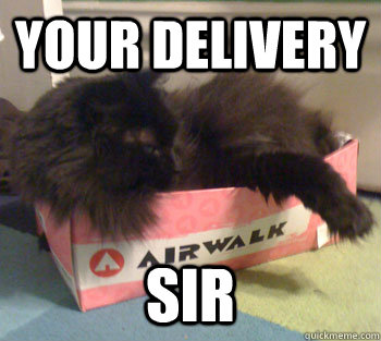 your delivery sir - Your delivery sir