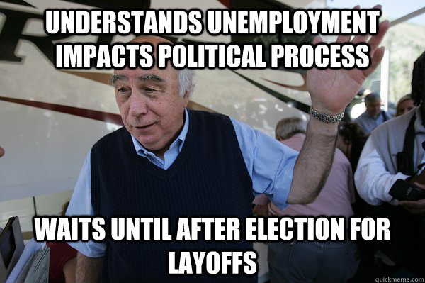 understands unemployment impacts political process waits unt - Good Guy Coal CEO