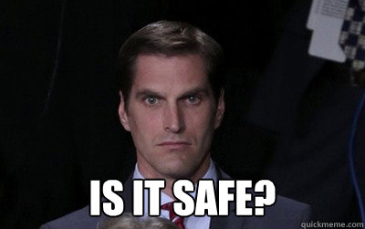 is it safe - Menacing Josh Romney