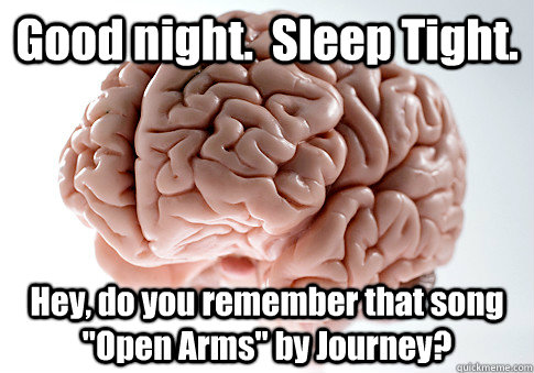 good night sleep tight hey do you remember that song op - Scumbag Brain