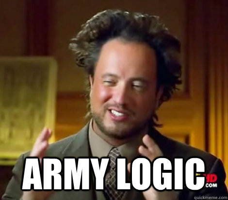 army logic - Aliens Dude