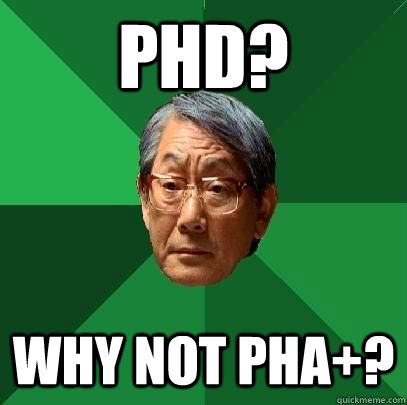 phd why not pha - ASIAN FATHER