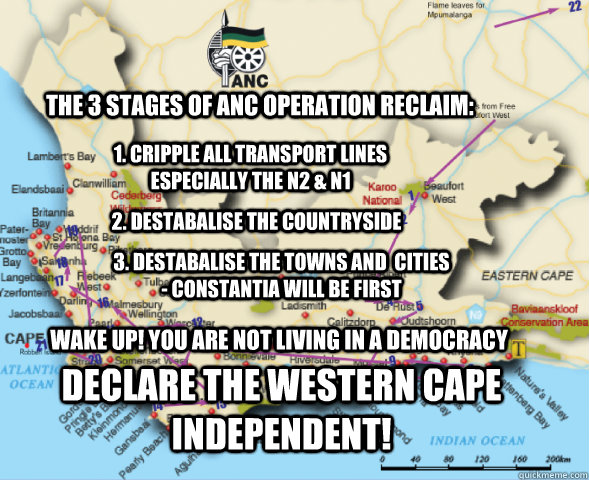 the 3 stages of anc operation reclaim 1 cripple all transp - operation reclaim