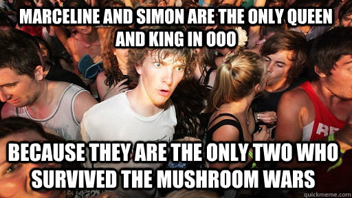 marceline and simon are the only queen and king in ooo becau - Sudden Clarity Clarence