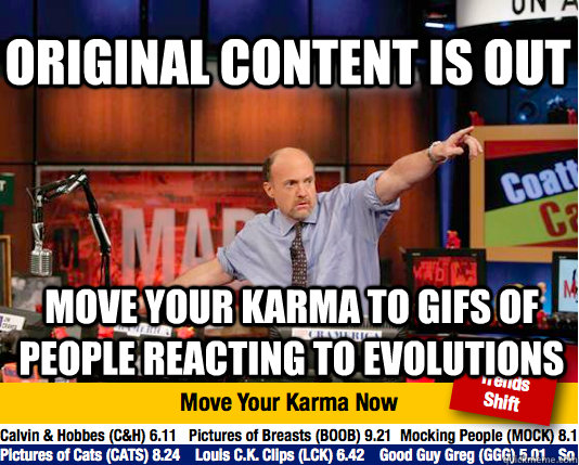 original content is out move your karma to gifs of people re - Mad Karma with Jim Cramer