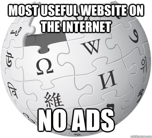 most useful website on the internet no ads -