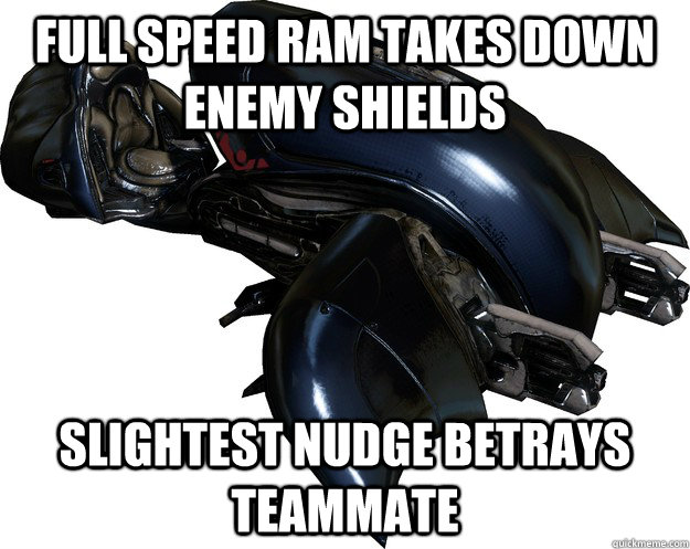 full speed ram takes down enemy shields slightest nudge betr - Scumbag Halo 4 Ghost