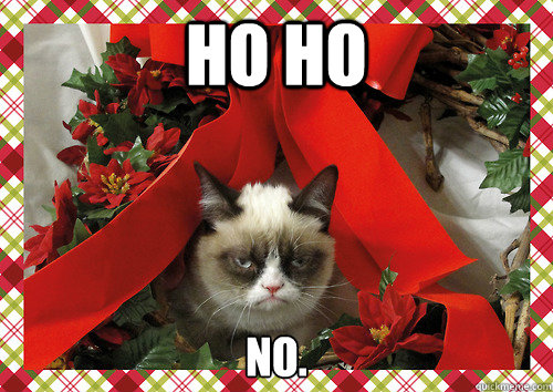 ho ho no - Grumpy holidays