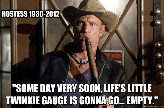 some day very soon lifes little twinkie gauge is gonna g - Twinkies