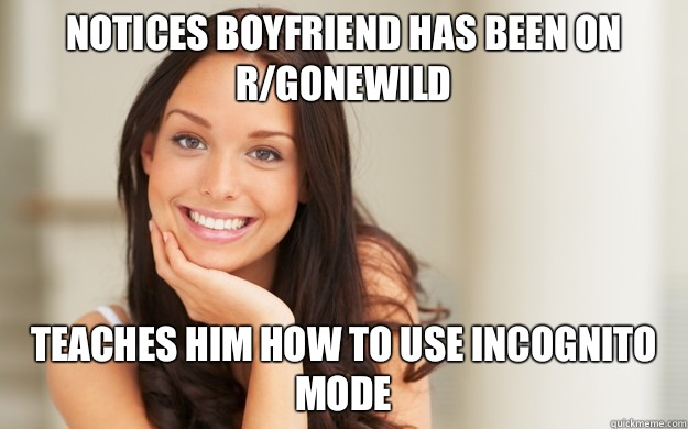notices boyfriend has been on rgonewild Teaches him how to u - Good Girl Gina