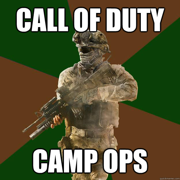 call of duty camp ops - Call of Duty Addict