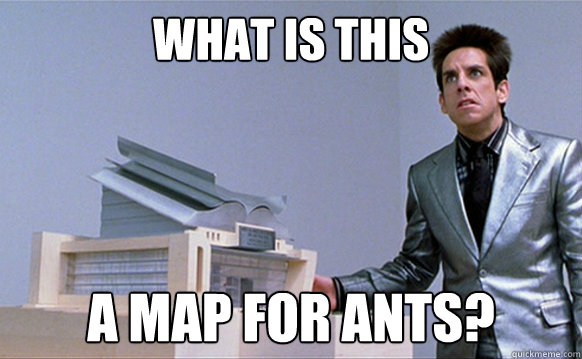 what is this a map for ants - Planetside Zoolander