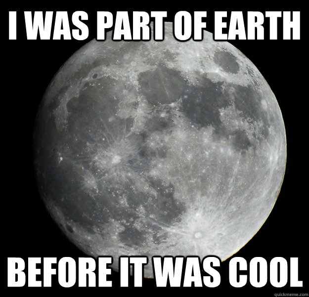 i was part of earth before it was cool -