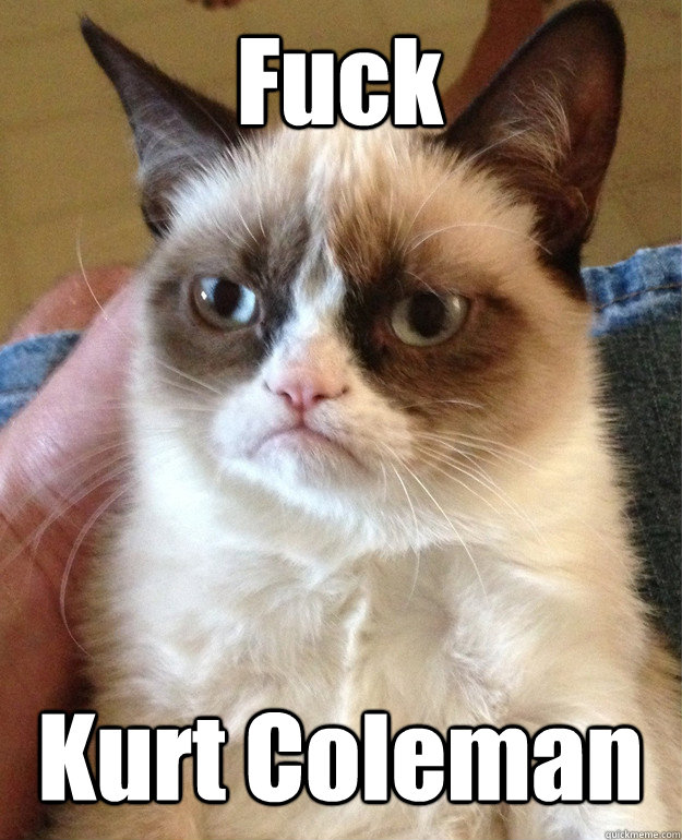 fuck kurt coleman - Tard cat shabbos