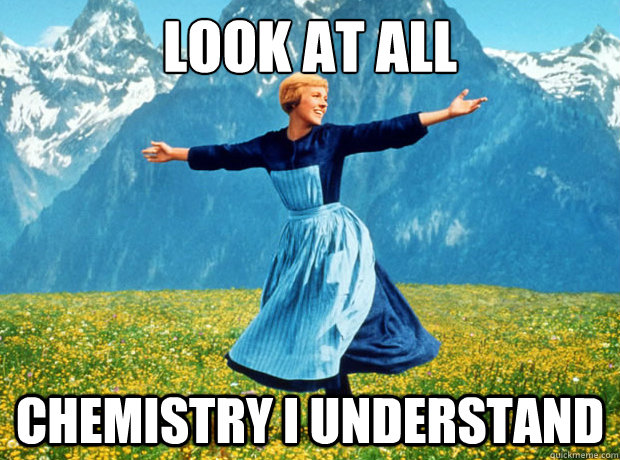 look at all chemistry i understand  - Sound of Music- Election