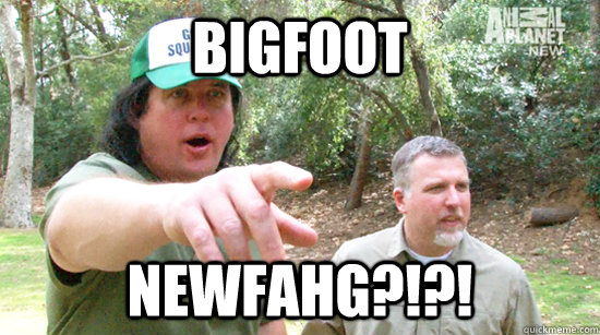 bigfoot newfahg  -