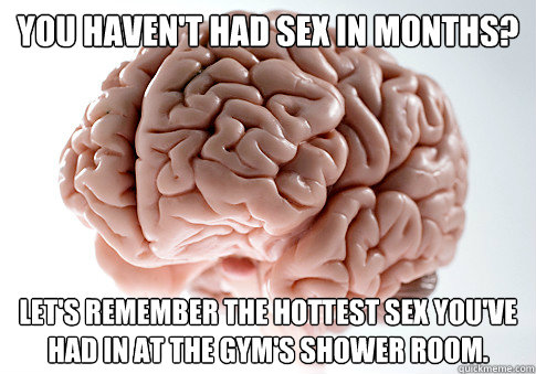 you havent had sex in months lets remember the hottest se - Scumbag Brain