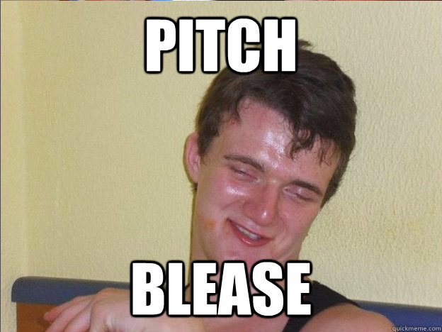 pitch blease -