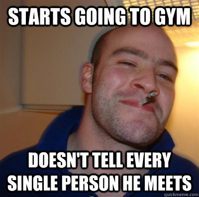 starts going to gym doesnt tell every single person he meet - GGG plays SC