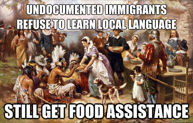 undocumented immigrants refuse to learn local language still - Lucky Pilgrims