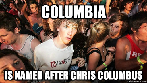 columbia is named after chris columbus - 