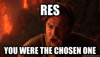 res you were the chosen one - Epic Fucking Obi Wan