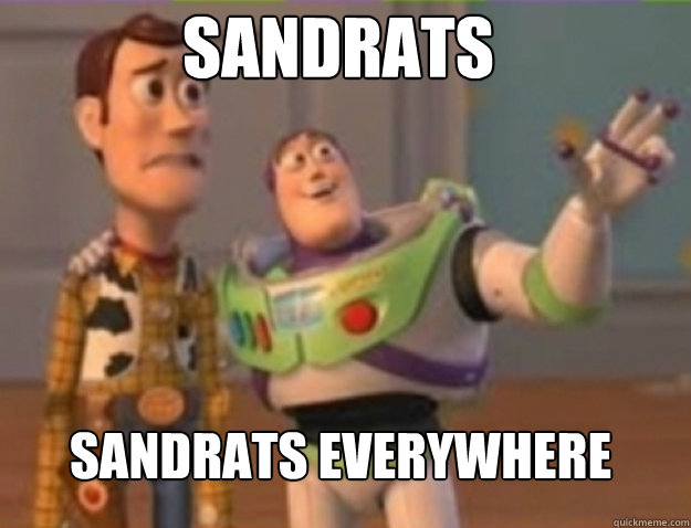 sandrats sandrats everywhere - buzz lightyear