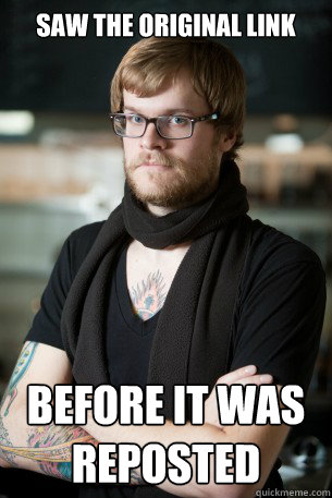 saw the original link before it was reposted - Hipster Barista