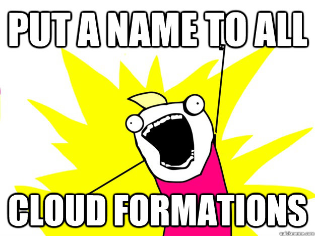 put a name to all cloud formations - Do All The Things