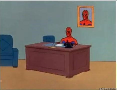 60 - Spiderman Desk