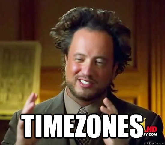 timezones - Ancient Aliens