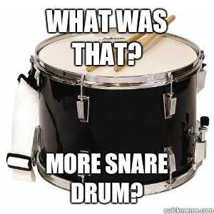 What was that More snare drum - astrio snare