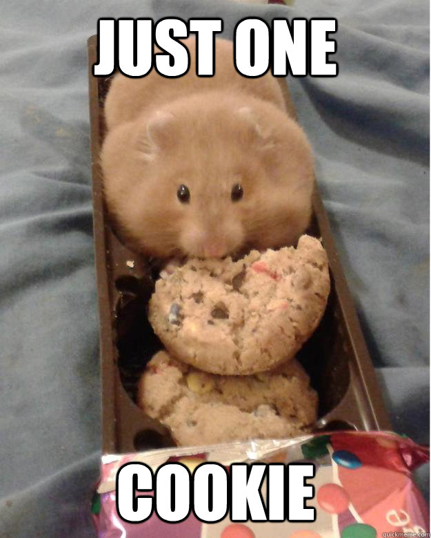 just one cookie - 
