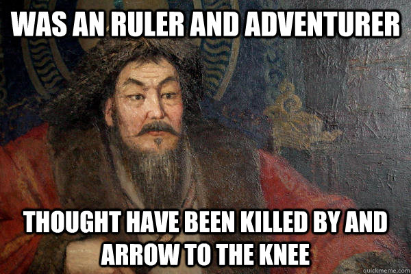 was an ruler and adventurer thought have been killed by and  -
