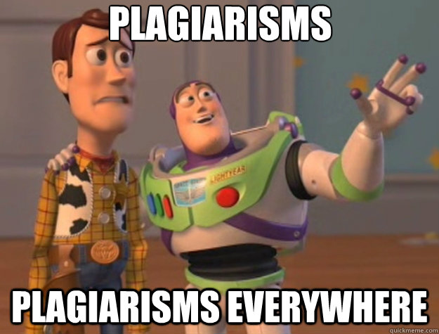 plagiarisms plagiarisms everywhere - Toy Story
