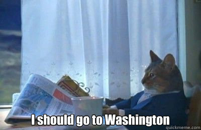 i should go to washington - I should buy a bike