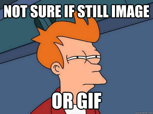 not sure if still image or gif - Futurama Fry