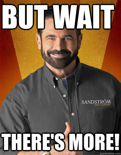 but wait theres more - billy mays to rush sigma nu