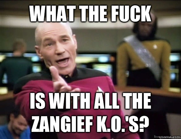 what the fuck is with all the Zangief KOs - Annoyed Picard HD