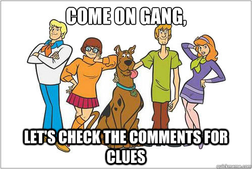 Image result for jinkies meme